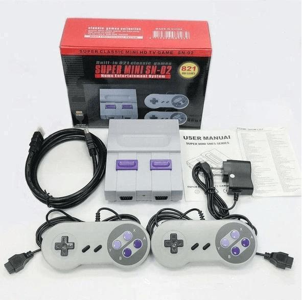Super Nintendo Retrô 821 Jogos Clássicos - Frete Grátis - Loja Oficial | XploudShop