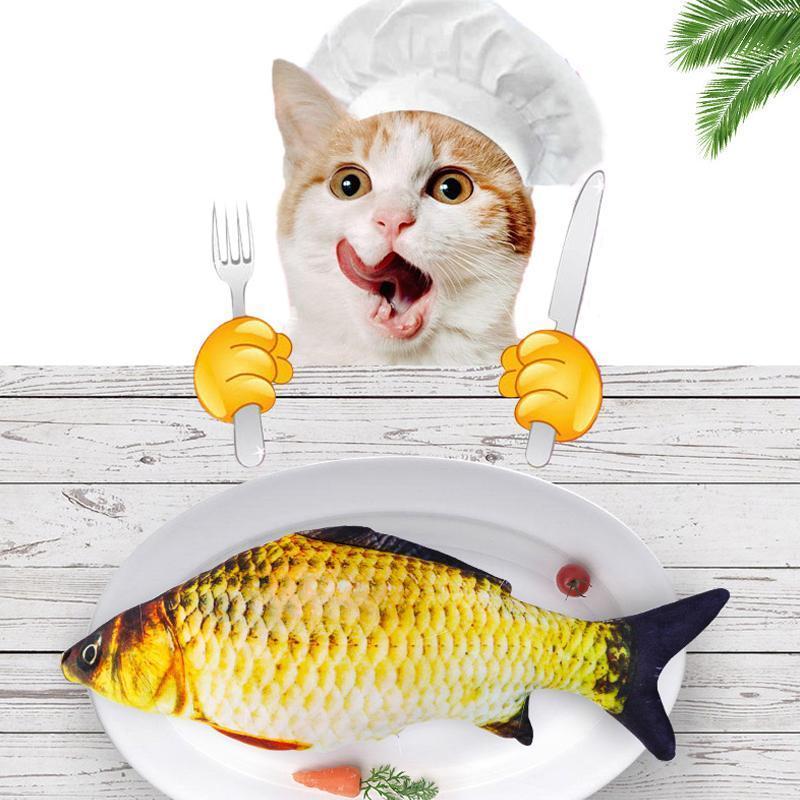 Brinquedo de peixe Catnip - Loja Oficial | XploudShop
