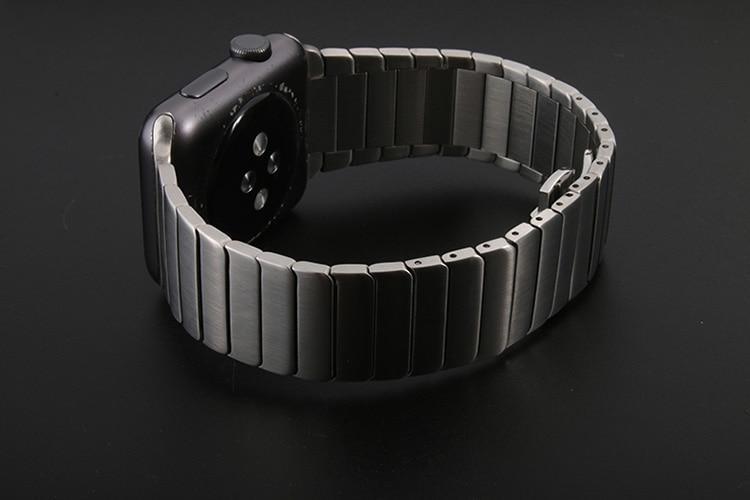 Pulseira de Luxo em Aço Inoxidável para Apple Watch - Loja Oficial | XploudShop