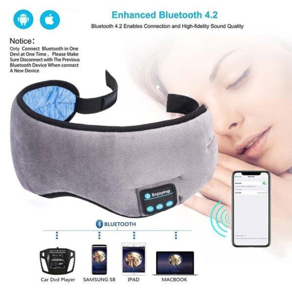 Máscara para dormir com Bluetooth - Loja Oficial   XploudShop