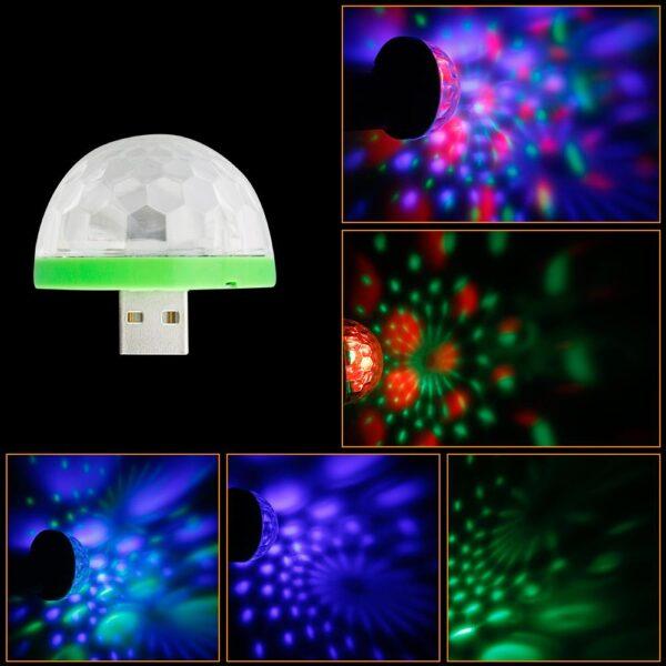 Luz Mágica LED Alternável Mini USB Móvel Computador Celular - Loja Oficial | XploudShop