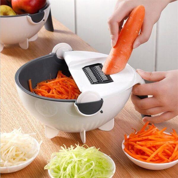 Cortador de Legumes Multifuncional e Prático Ralador Fatiador e Picador - Loja Oficial   XploudShop