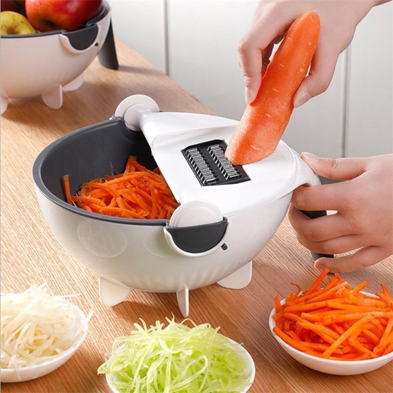 Cortador de Legumes Multifuncional e Prático Ralador Fatiador e Picador - Loja Oficial | XploudShop