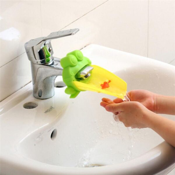 Bico Extensor para Torneira de Silicone para Banheiro de Crianças - Loja Oficial | XploudShop