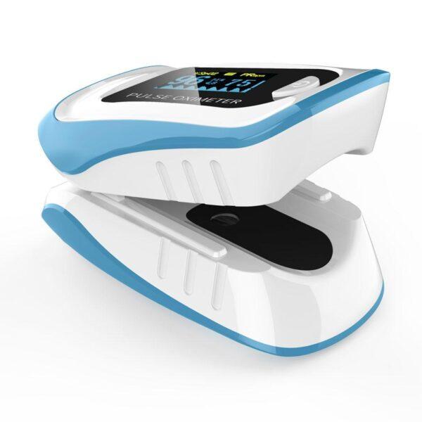 Oxímetro de Dedo com Display OLED Medidor de Pulso e Saturação de Oxigênio no Sangue para Cuidados de Saúde - Loja Oficial | XploudShop