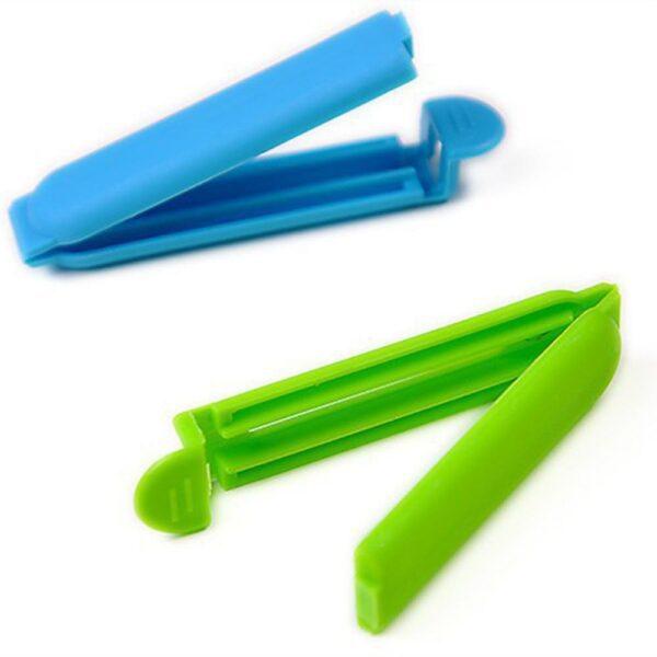 Conjunto com 5 Clipes de Plástico Prendedores de Embalagem a Vácuo Selagem de Alimentos para Cozinha - Loja Oficial | XploudShop