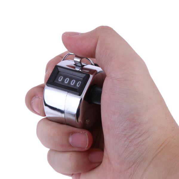 Mini Clicker Contador de Golfe Manual 4 Dígitos Handheld Metal - Loja Oficial | XploudShop