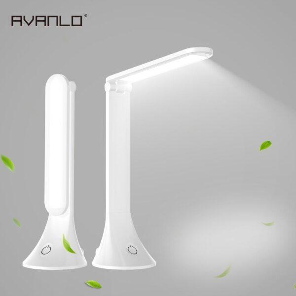 Luminária LED de Mesa Dobrável para Leitura Recarregável Intensidade de Luz Regulável - Loja Oficial | XploudShop