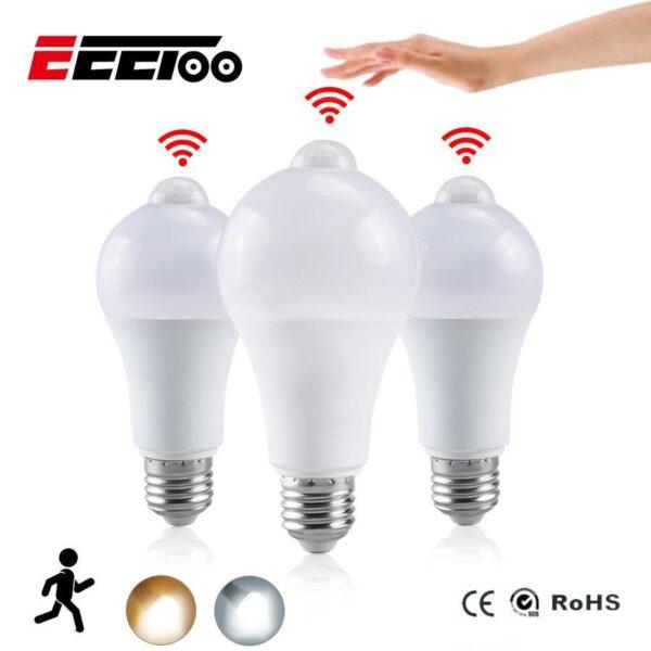 Lâmpada Inteligente Luz LED Automática com Sensor de Movimento - Loja Oficial | XploudShop