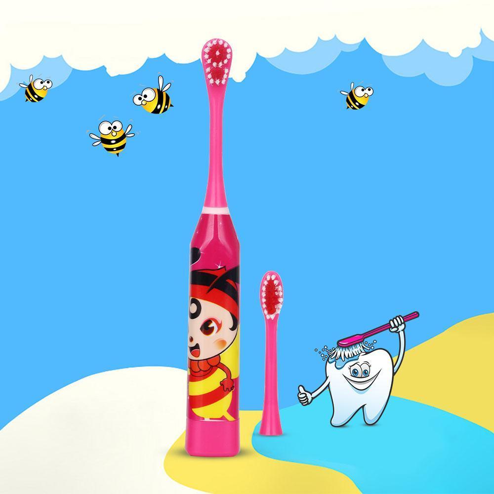 Escova de Dentes Elétrica Infantil Desenhos Animados Coloridos - Loja Oficial | XploudShop