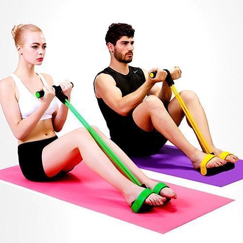 Extensor Musculação Fitness Multifuncional em Casa - Loja Oficial | XploudShop