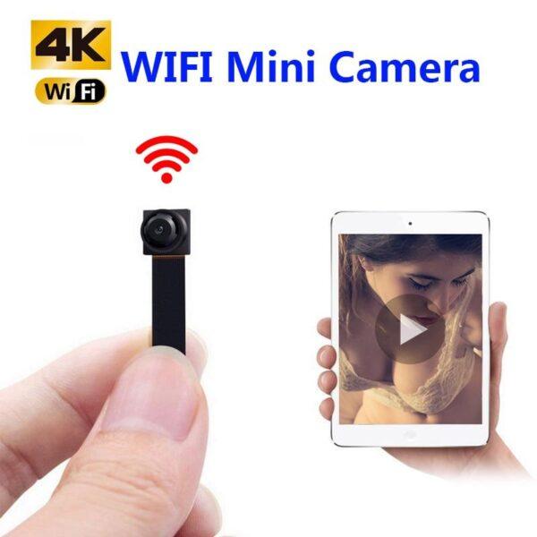 MiniCam WiFi Gravação 1080P Segurança HD Câmera IP Sem Fio - Loja Oficial   XploudShop