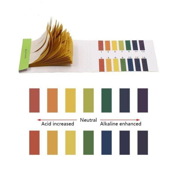Papel Indicador pH 1 - 14 Tiras para Teste Litmus de Acidez 80 Unidades - Loja Oficial | XploudShop