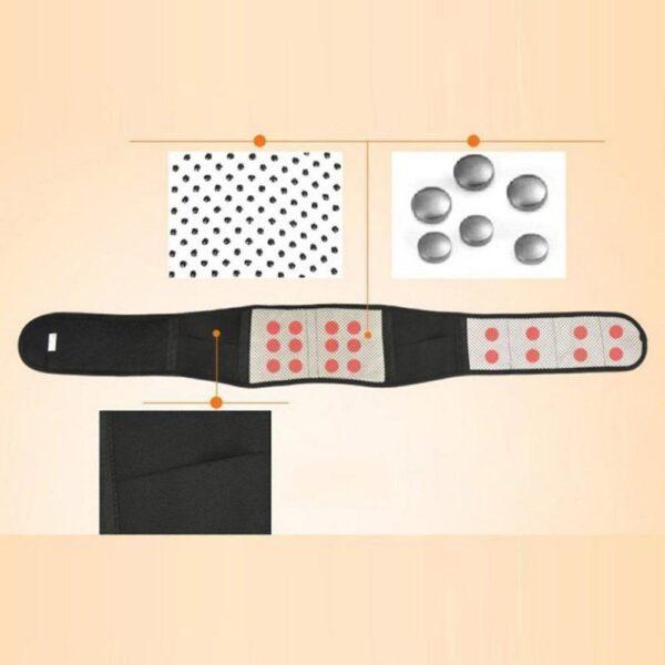 Cinta Lombar Magnética Terapia para Dor Ciático, Hernia Disco, Lombalgia, Fibromialgia - Loja Oficial | XploudShop