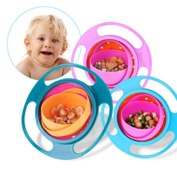 Tigela Mágica Para Bebê - Loja Oficial | XploudShop