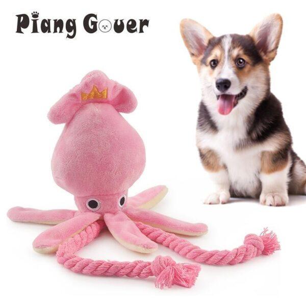 Brinquedo para Cachorro Polvinho Fofinho Rosa Diversão Animal - Loja Oficial | XploudShop