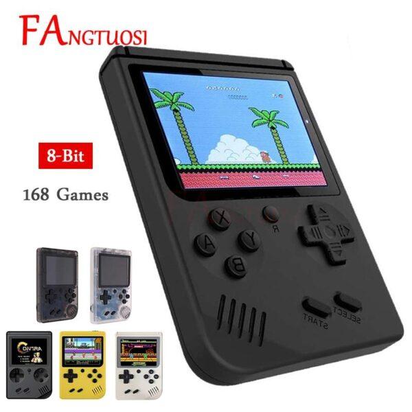 Mini Game Retrô Portátil 168 Jogos Pré Instalados Nostalgia - Loja Oficial   XploudShop