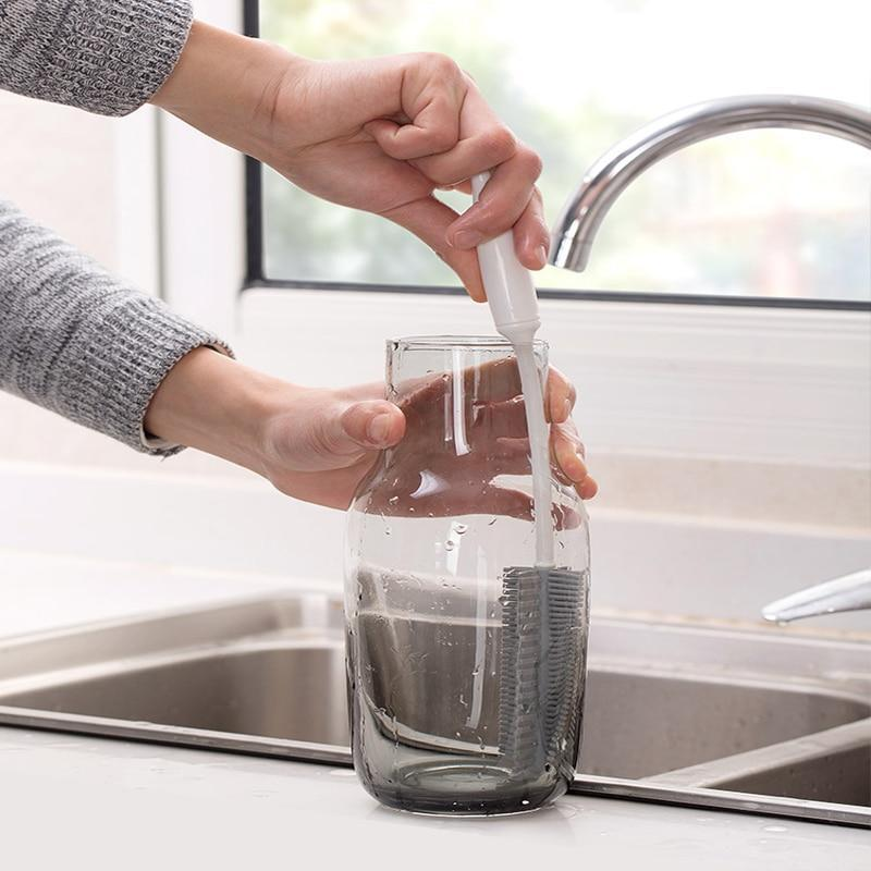 Escova de Limpeza Fácil de Silicone para Lavar Louça Pratos e Copos de Vidro - Loja Oficial | XploudShop