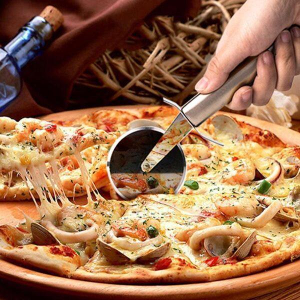 Cortador de Pizza e Ferramentas de Cozinha Aço Inox 6,5cm de Diametro - Loja Oficial | XploudShop