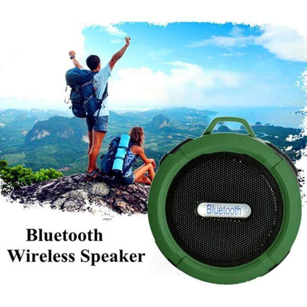 Mini Caixa de Som Bluetooth à Prova d'Água C6 Portátil - Loja Oficial | XploudShop