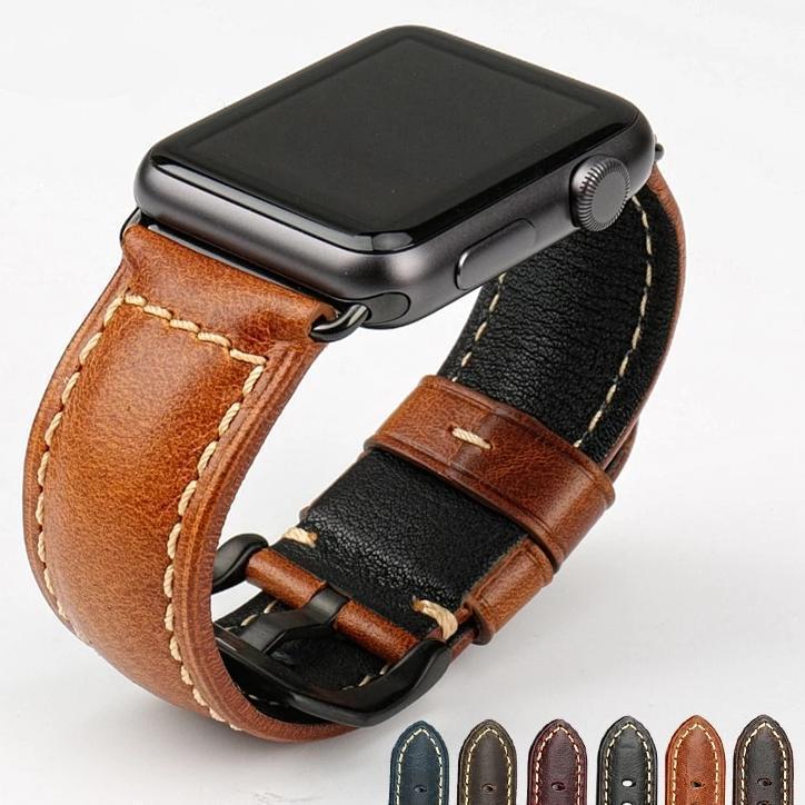 Pulseira em Couro Legítimo para Apple Watch - Loja Oficial   XploudShop