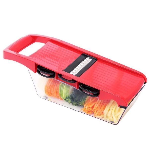 Slicer Dicer - Fatiador Ralador Cortador De Legumes 6 Em 1 800ml - Loja Oficial | XploudShop