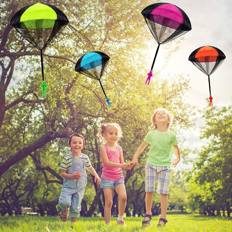 Mini Soldado Paraquedista Brinquedo Boneco de Plástico Voador com Paraquedas - Loja Oficial   XploudShop