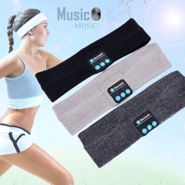Bandana Músical Bluetooth Fone de Ouvido Esportivo para Corrida Sem Fio - Loja Oficial | XploudShop