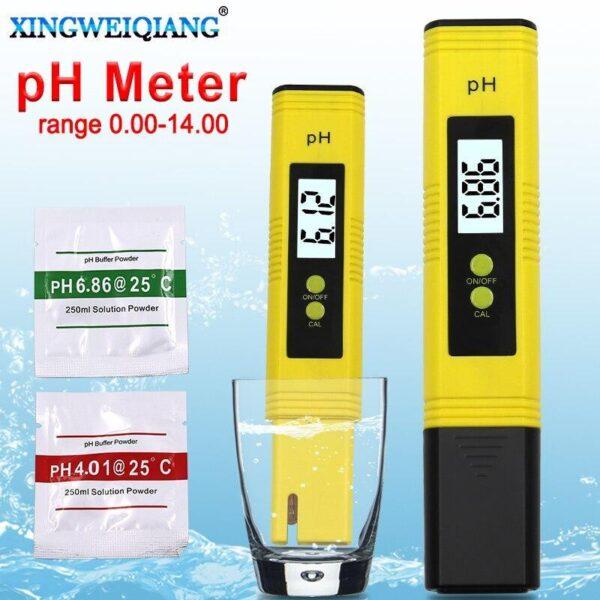 Caneta Medidor de pH Digital Automática Portátil Teste de Pureza de Água TDS - Loja Oficial   XploudShop