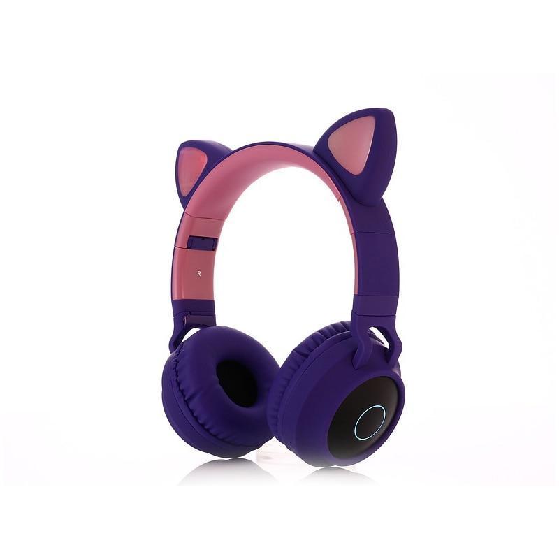 Fone Bluetooth Sem Fio Wireless LED Gato Colorido - Loja Oficial   XploudShop