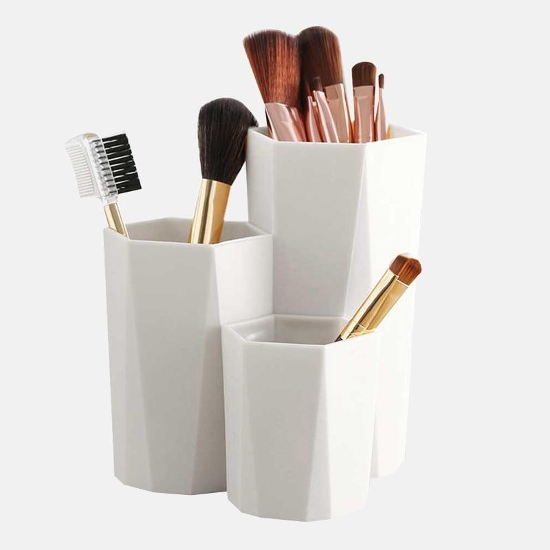 Kit 3 Caixas de Armazenamento Organizador de Mesa Maquiagem e Escritório - Loja Oficial | XploudShop