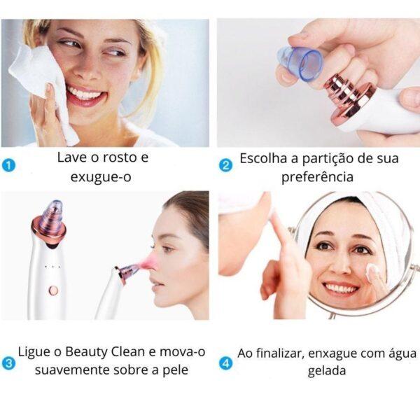 Beauty Clean - Removedor de Cravos e Espinhas - Loja Oficial   XploudShop