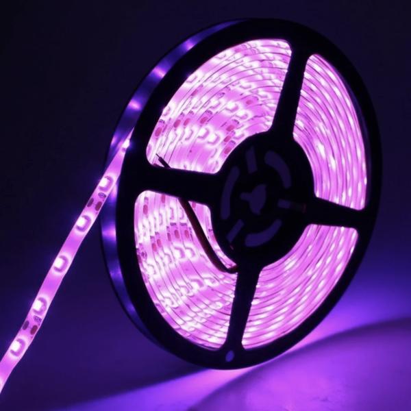 Fita de Luz LED RGB5050 Multicolor Ajustável com Controle Remoto para Decorações Criativas - Loja Oficial | XploudShop
