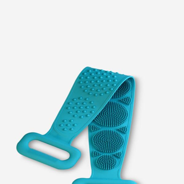 Escova de Banho para Costas de Silicone para Limpeza e Esfoliante da Pele - Loja Oficial | XploudShop