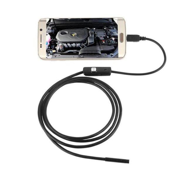 A câmera endoscópica para Smartphone, para enxergar nos cantos mais inacessíveis! - Loja Oficial | XploudShop