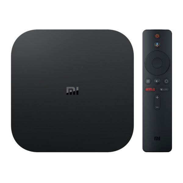 Android TV Xiaomi Mi Box S 4K HDR Bivolt Adaptador SmartTV Wi Fi HDMI USB - Loja Oficial | XploudShop