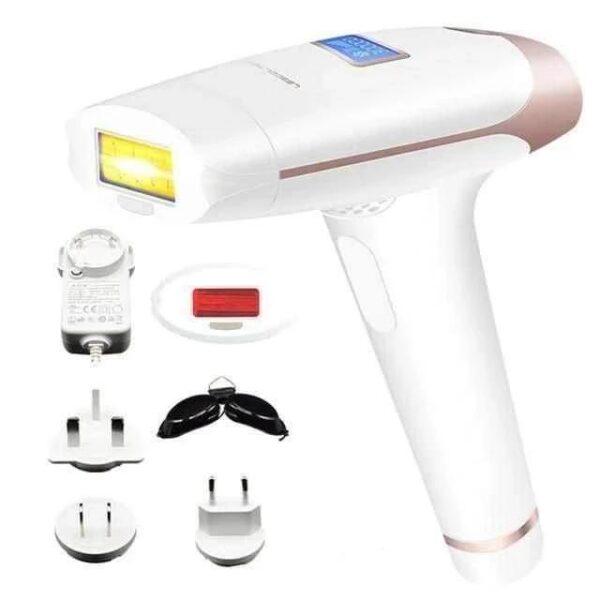 Depilador Rejuvenescedor Laser Depilação Permanente Tratamento Acne  Luz Pulsada Ajustável 400000 Disparos Branco - Loja Oficial | XploudShop