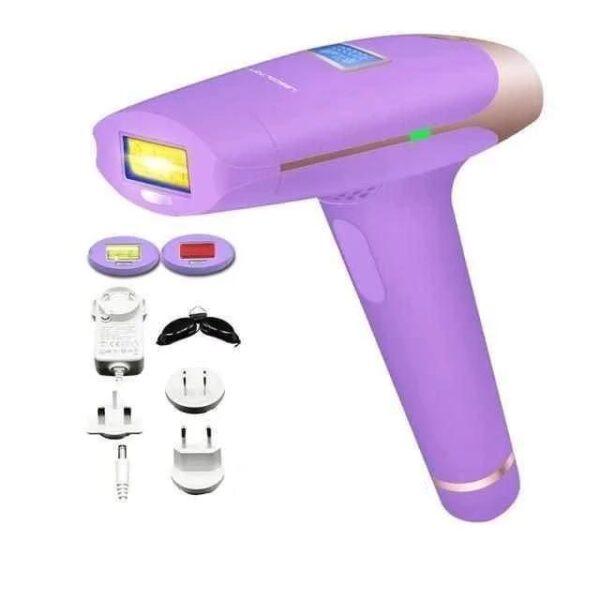 Depilador Rejuvenescedor Laser Remoção Permanente Tratamento Acne Luz Pulsada Ajustável 700000 Disparos - Loja Oficial | XploudShop