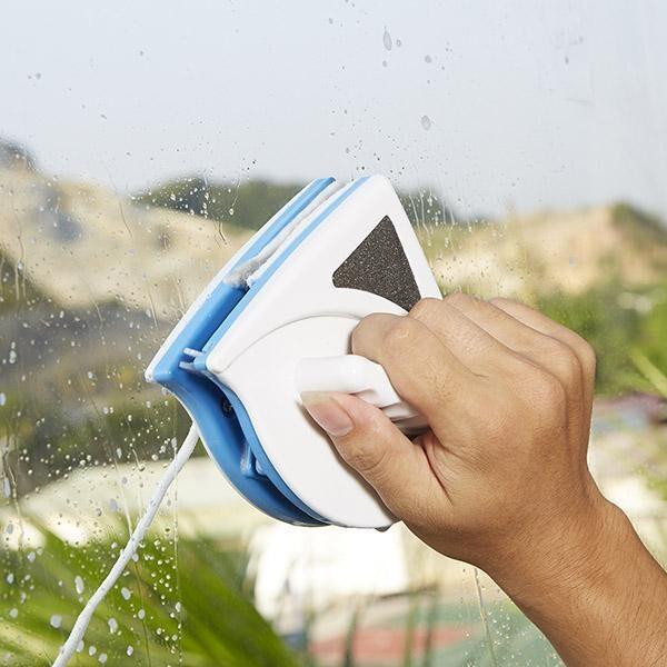 Limpador de Janela Magnético Frente e Verso Branco e Azul - Loja Oficial   XploudShop