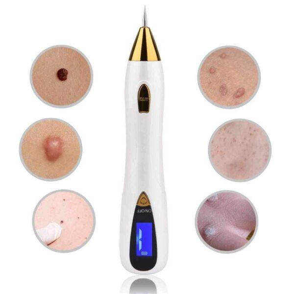 Laser Removedor de Tatuagens e Despigmentação Jato de Plasma LCD 9 Níveis + 3 Ponteiras Lança + 10 Agulhas - Loja Oficial | XploudShop
