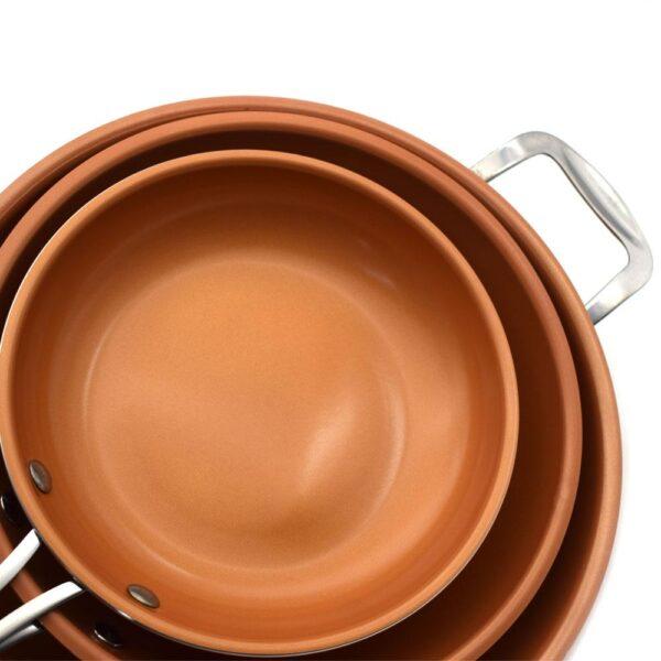 Frigideira Antiaderente de Cerâmica e Titânio - Loja Oficial | XploudShop