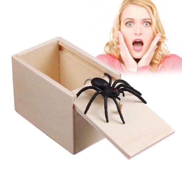 Aranha Box  - Susto Garantido! - Loja Oficial   XploudShop