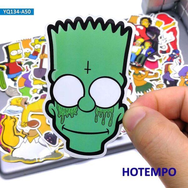 "50 adesivos ""Os Simpsons"" - Loja Oficial | XploudShop"