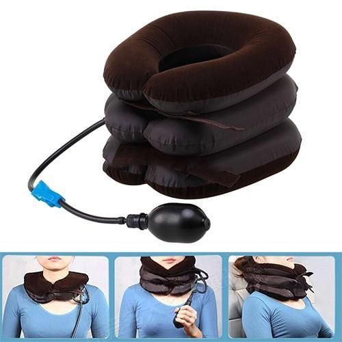 Almofada de Massagem Inflável para Pescoço - Loja Oficial | XploudShop