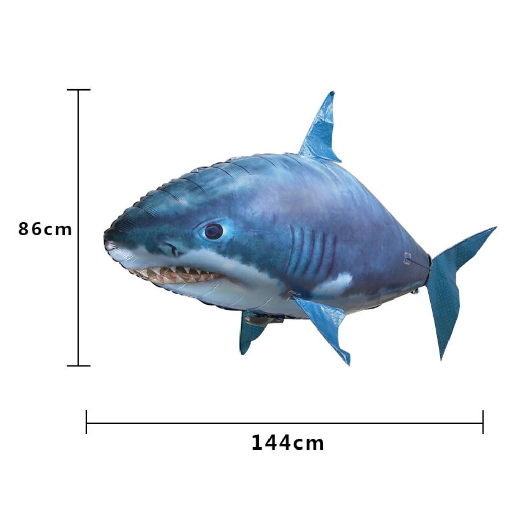 Mega Tubarão Voador - Com Controle Remoto - Loja Oficial   XploudShop
