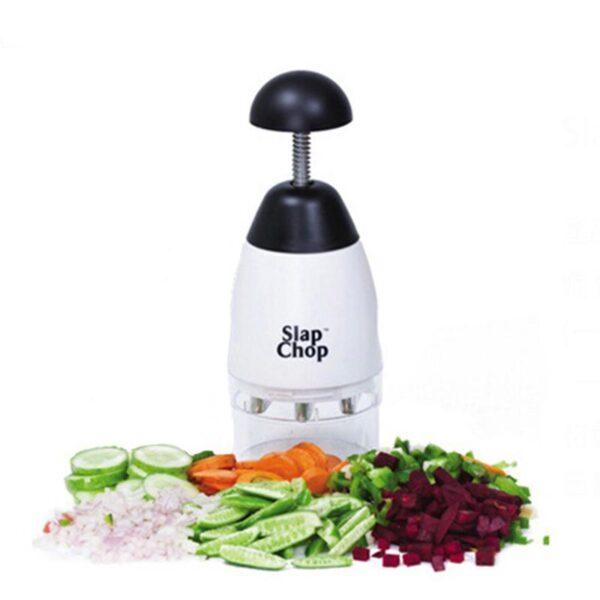 SlapChop Máquina Cortadora Manual de Frutas e Legumes Ferramenta de Cozinha - Loja Oficial | XploudShop