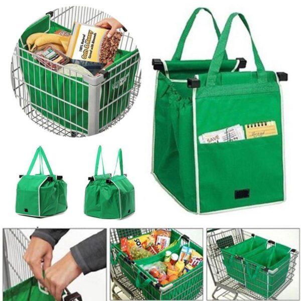 Sacola de Mercado Reutilizável para Compras Bolsa Ecológica - Loja Oficial | XploudShop