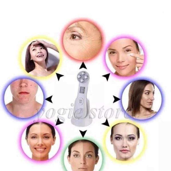 Aparelho Portátil Fototerapia & Radiofrequência LED Facial Anti-Rugas - Loja Oficial | XploudShop