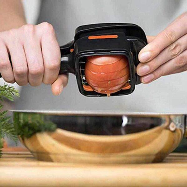 SlicerPro - Mini Fatiador Ralador e Cortador de Legumes Multifuncional - Loja Oficial | XploudShop